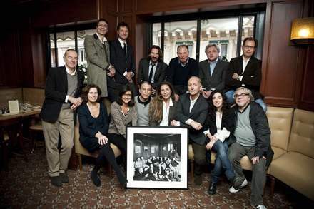 Le jury du Prix de Flore Novembre 2012