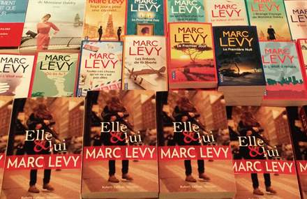 Albertine Bookshop, NY, March 10,2015 - Marc Levy
