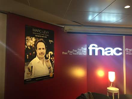 Fnac des Ternes Paris, 22 avril 2017 - Marc Levy
