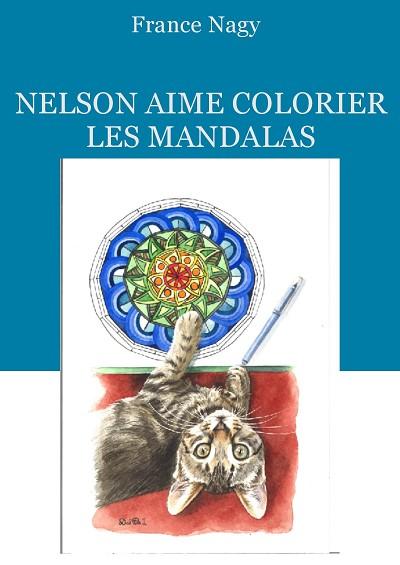 Nelson aime colorier les mandalas