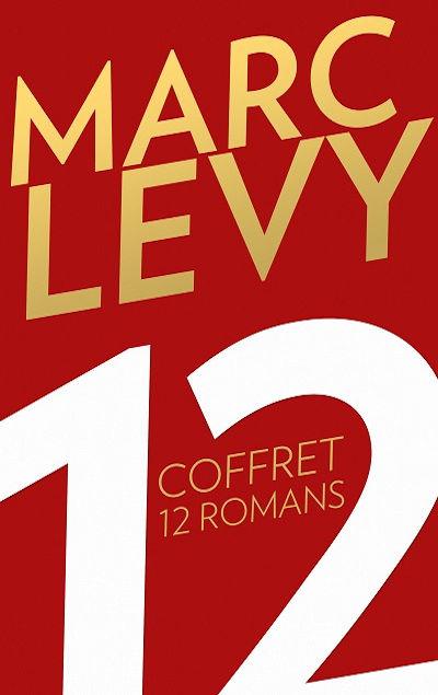 Coffret 12 romans Marc LEVY