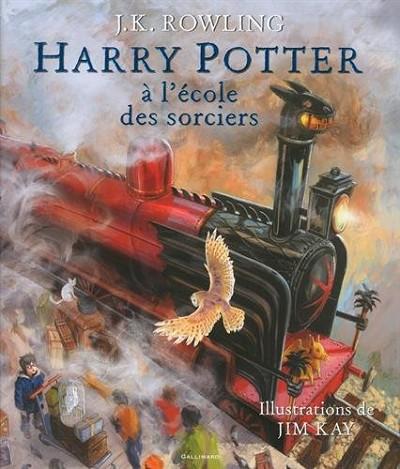 Harry Potter à l'école des sorciers version illustrée