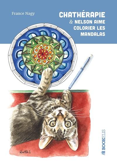 Chathérapie & Nelson aime colorier les mandalas