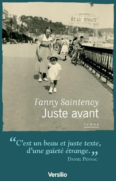 Juste avant  de  Fanny Saintenoy