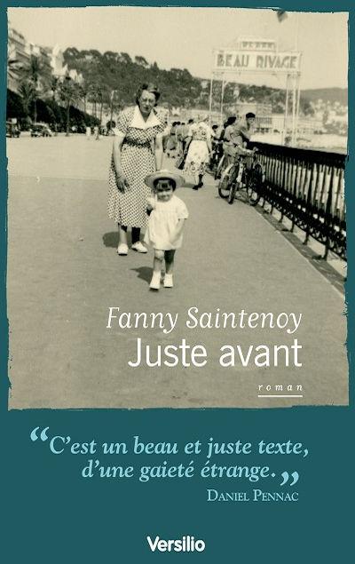 Fanny Saintenoy - Livres - Juste avant