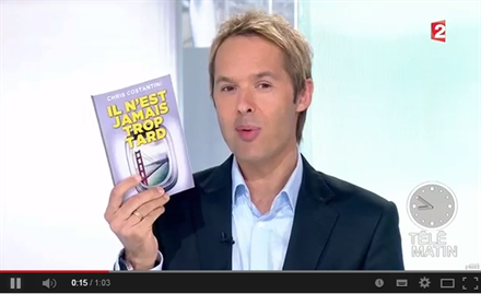 France 2 t l matin il n 39 est jamais trop tard chris for Telematin cuisine france 2